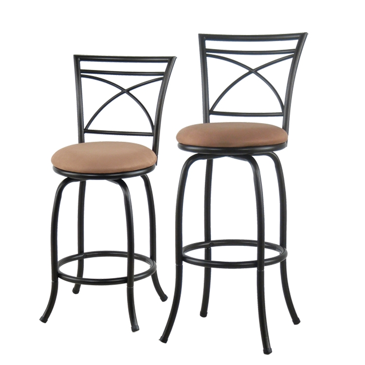 Decor Of Metal Bar Stool With Back Amerihome 2 Piece Metal Counter within The Most Stylish  metal bar stools with back intended for Cozy