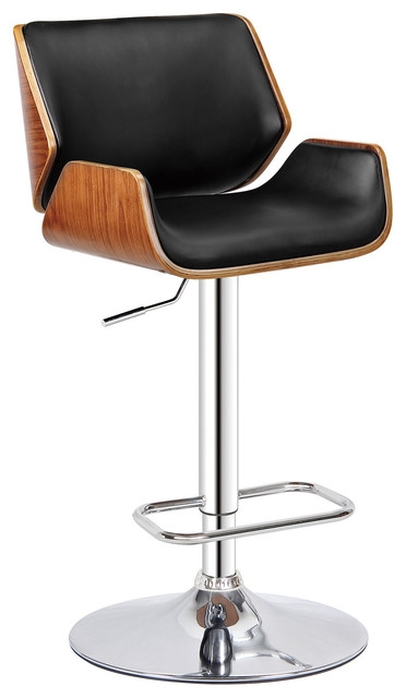 Dempster Adjustable Swivel Bar Stool Midcentury Bar Stools And in Swivel Bar Stools