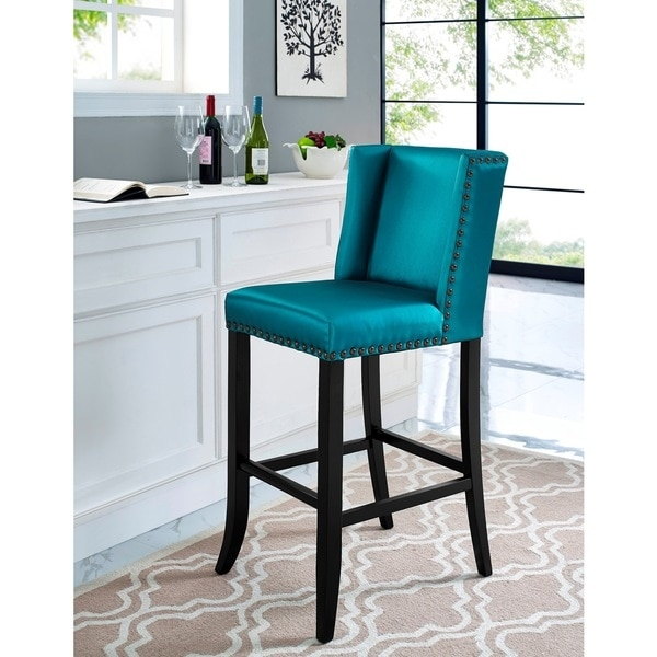 Denver Blue Bar Stool 17610387 Overstock Shopping Great for bar stools denver regarding  Home