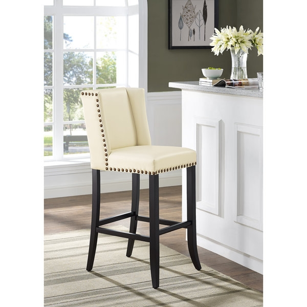 Denver Cream Counter Stool 17610386 Overstock Shopping pertaining to Bar Stools Denver