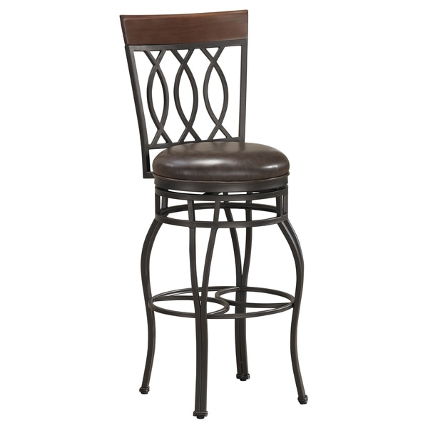 Der 34 Inch Swivel Bar Stool 12985983 Overstock Shopping throughout The Most Awesome and also Interesting 34 bar stools with regard to Aspiration