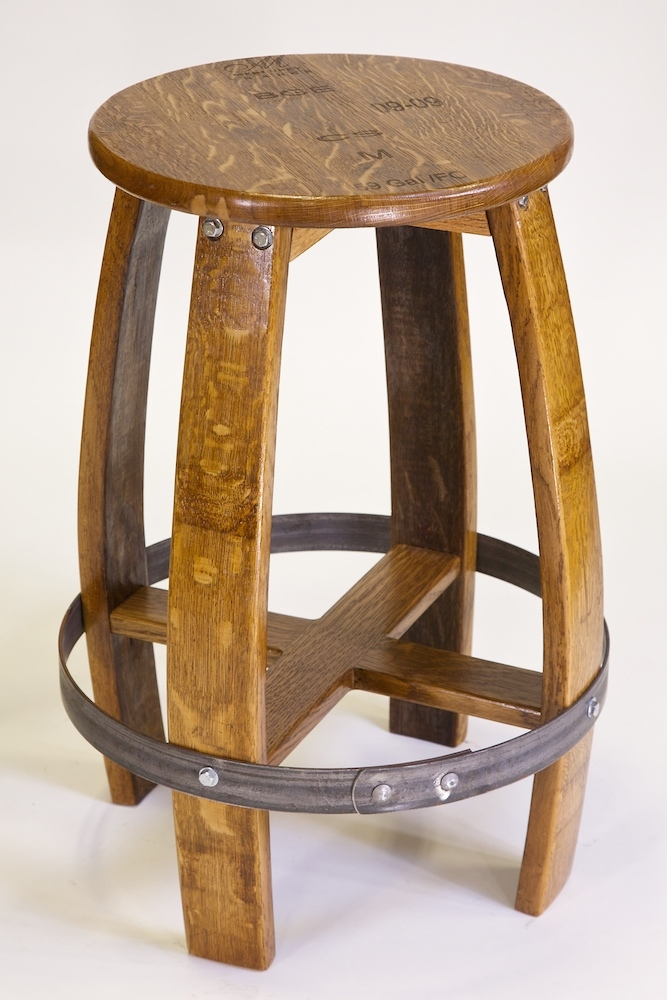 Download Wine Barrel Bar Stool Plans Woodworking Plans throughout Wine Barrel Bar Stools