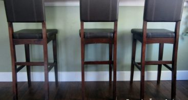Drop Cloth Barstool Makeover Domestic Imperfection for Bar Stools For Cheap