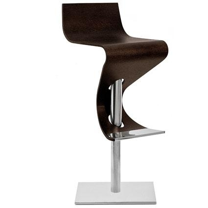 Elisabetta Wooden Bar Stool Gtgt Modern Contemporary Furniture with modern wood bar stools regarding Encourage