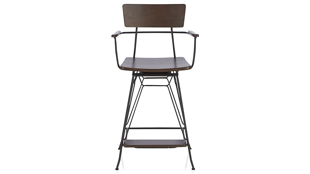 Elston Swivel Bar Stool Crate And Barrel throughout Swivel Bar Stools