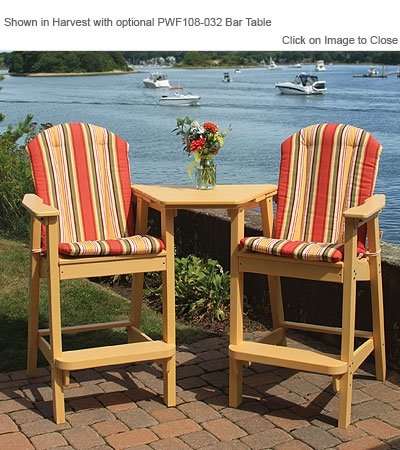 Envirowood Outdoor Poly Furniture Seaside Casual Sea060 intended for Adirondack Bar Stools