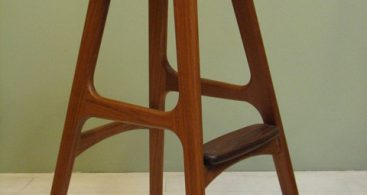 Erik Buck Mid Century Counter Stool Control Brand Mcm Bar Stools pertaining to Mid Century Bar Stools