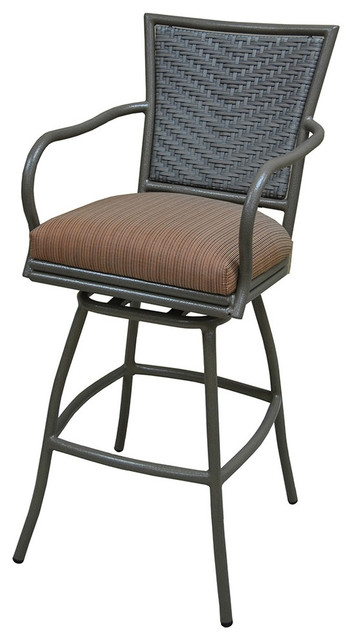 Erin Black Arm Counter Stool Bar Stools And Counter Stools in tobias bar stools pertaining to The house