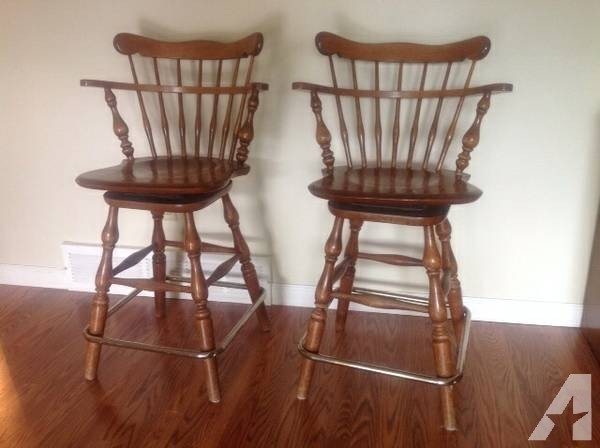 Ethan Allen Bar Stools Heirloom Nutmeg Maple 10 6095 For Sale In in ethan allen bar stools pertaining to Residence