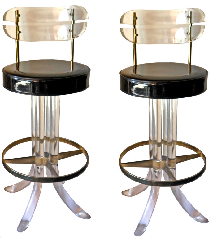 Eurostyle Tendy 26quot Bar Stool Bar Stools Stools And Bar throughout Lucite Bar Stools