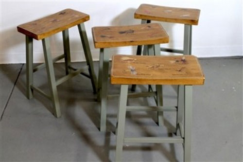 Farmhouse Bar Stools Eatwell101 within Country Style Bar Stools