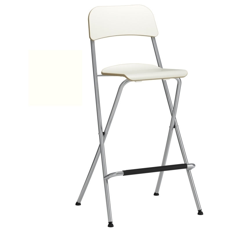 Foldable Bar Stools Franklin Bar Stool With Backrest Foldable 29 inside Ikea Folding Bar Stool