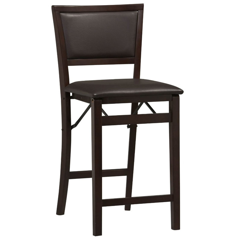 Folding Bar Stools Space Saving Counter Chairs Home Decorator Shop throughout Counter Height Bar Stools With Backs