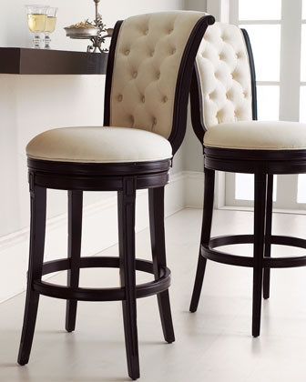 For The Pair Or For One throughout Elegant Bar Stools