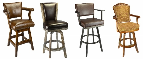 Four Benefits Of Padded Back Stools Entertaining Design pertaining to comfortable bar stools pertaining to Your home