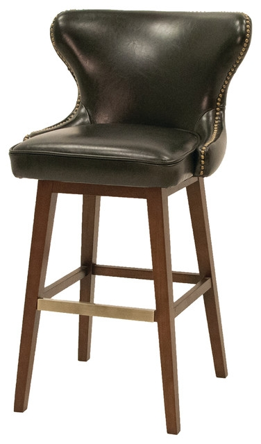 Four Hands Julie Swivel Barstool Traditional Bar Stools And pertaining to Swiveling Bar Stools