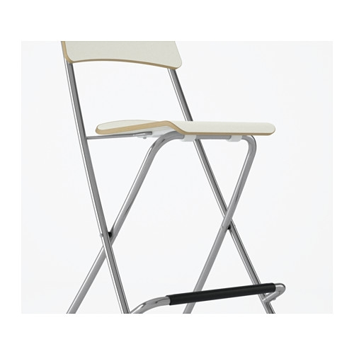 Franklin Bar Stool With Backrest Foldable 29 18 Quot Ikea for Ikea Folding Bar Stool