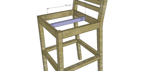 Free Diy Furniture Plans To Build A Pottery Barn Inspired within How To Build A Bar Stool