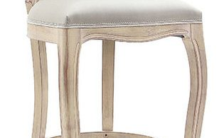 French Shab Chic Bar Stools And Counter Louis French Style Oval for Shabby Chic Bar Stools