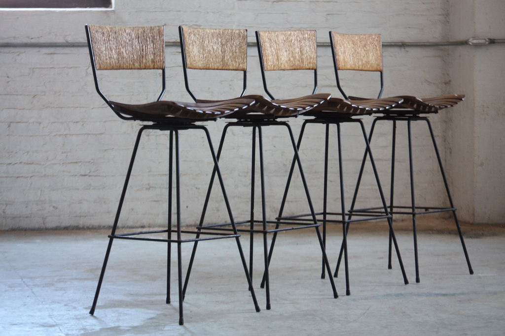 Fresh Alexander Wrought Iron Bar Stool 14040 intended for The Awesome and Stunning iron bar stools regarding Household
