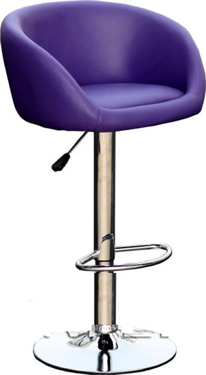 Funky Bar Stools Colours Green Orange Purple Red Yellow with regard to Purple Bar Stools