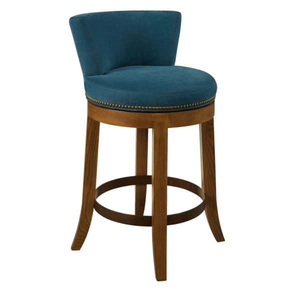 Furniture Black Iron Counter Stool With Upholstered Seat And Back in The Most Awesome  counter height swivel bar stools with backs intended for Your home