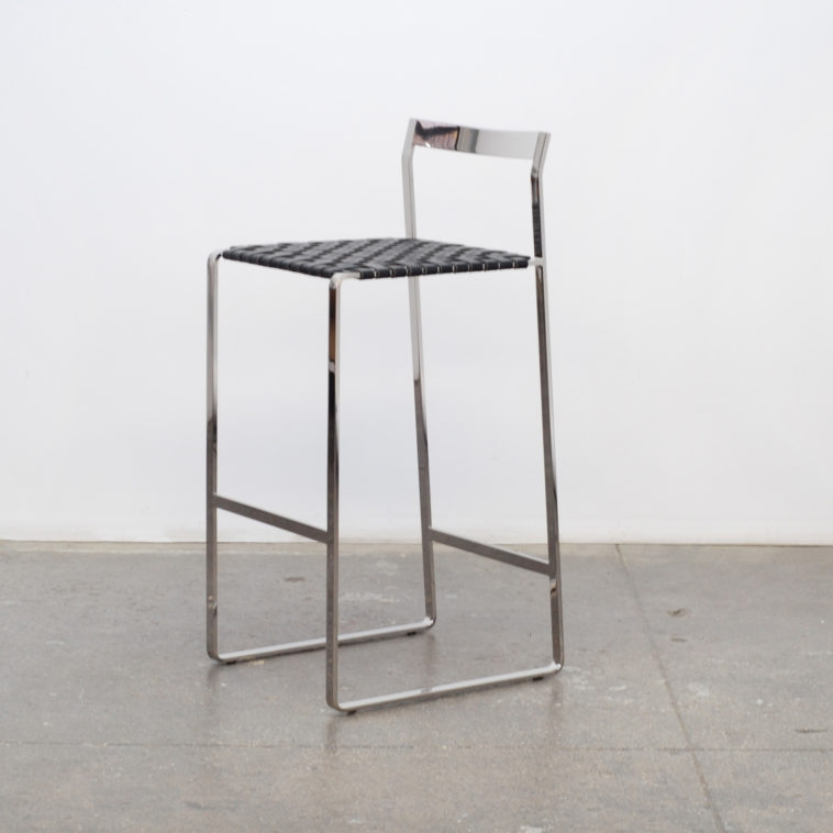 Furniture Silver Metal Bar Stools With Back And Footrest Having regarding Silver Metal Bar Stools
