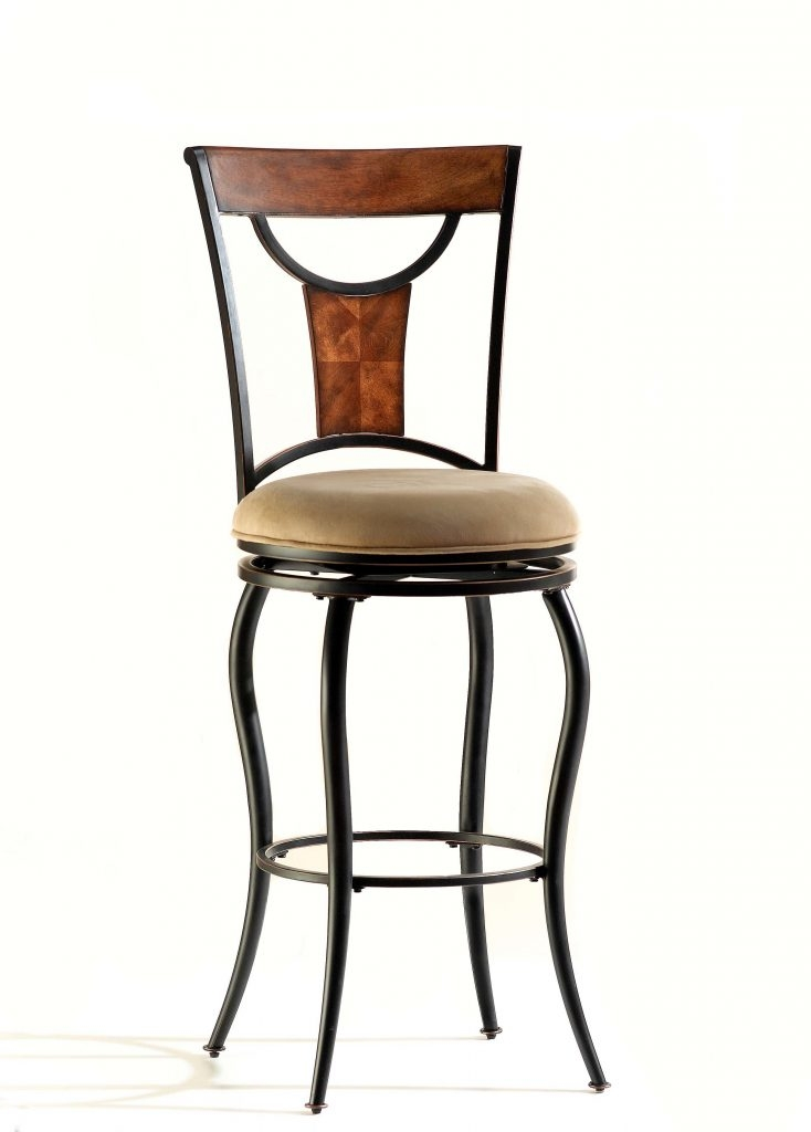 Furniture Square Cuhsion With High Back Chair Swivel Bar Stools pertaining to The Most Incredible  swivel bar stools no back regarding Motivate