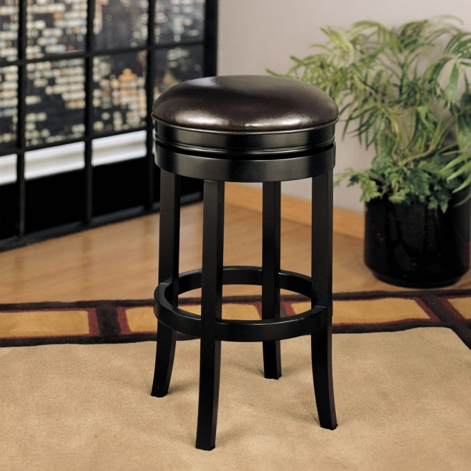 Furniture Swivel Bar Stools With Backs For Exciting Kitchen pertaining to lowes swivel bar stools for Residence
