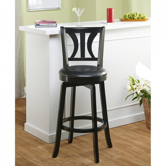 Furniture Swivel Bar Stools With Backs For Exciting Kitchen with regard to lowes swivel bar stools for Residence