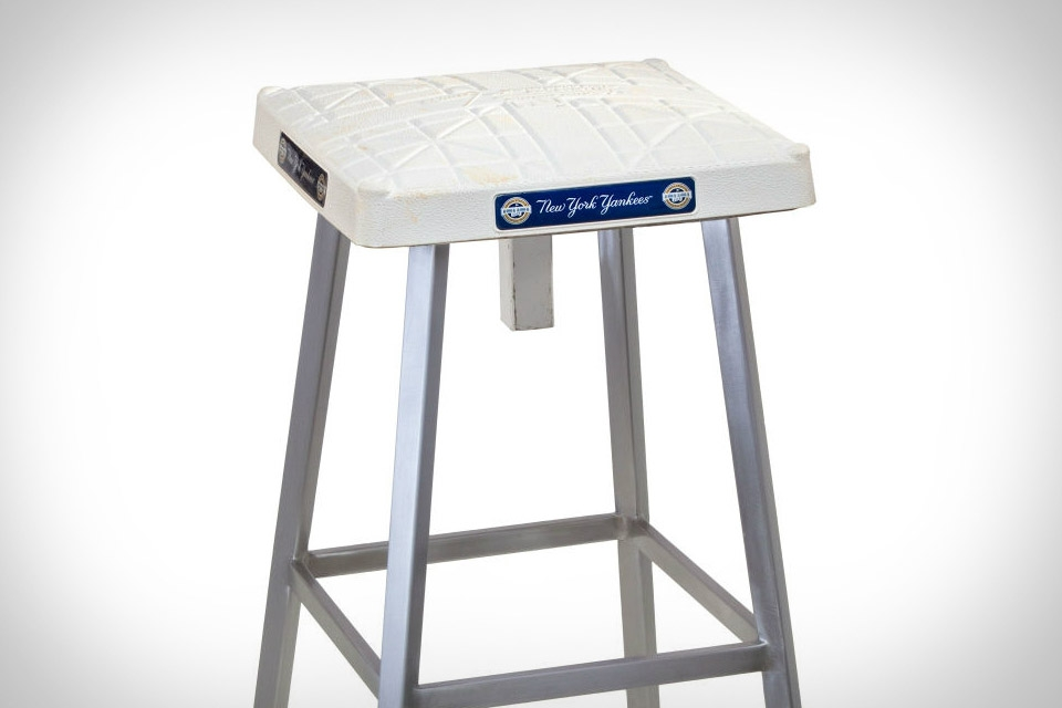 Game Used Base Bar Stool Uncrate in Bar Stool Base