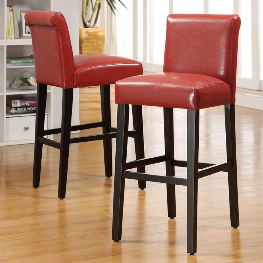 Getting Most Comfortable Taste Enchanting Upholstered Bar throughout comfortable bar stools pertaining to Your home