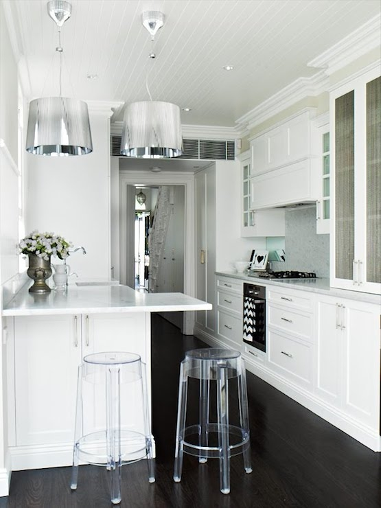 Ghost Bar Stools Eclectic Kitchen Oliver Interiors with The Most Amazing  ghost bar stools pertaining to Warm