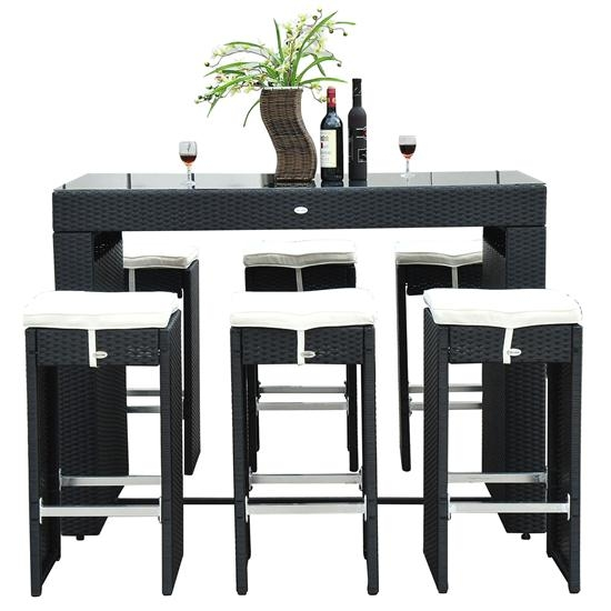 Great Bar Kitchen Table Wine Rack Pertaining To Bar Stool Kitchen within Bar Stool And Table Set