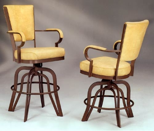 Great Swivel Bar Stool With Arms Wood Swivel Bar Stools With Arms throughout Bar Stools With Arms And Swivel And Backs