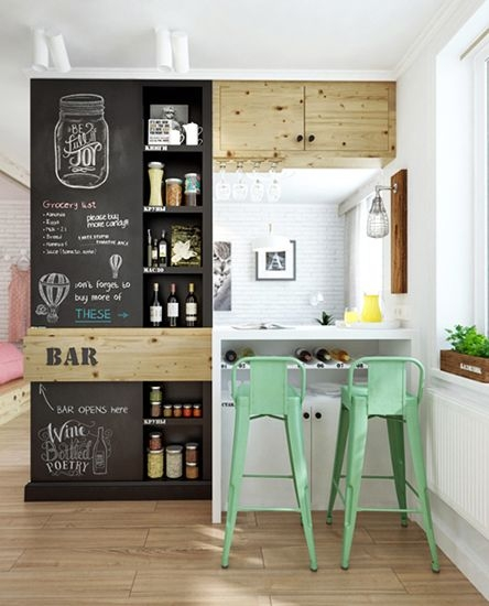 Green Bar Stools Small Kitchens And Mint Green On Pinterest regarding The Most Brilliant and also Gorgeous small bar stools intended for Property