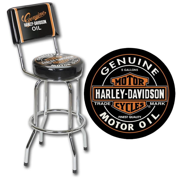 Harley Bar Stool Bar Accessories Valet Humidor Etc intended for Awesome in addition to Gorgeous harley bar stools regarding Home