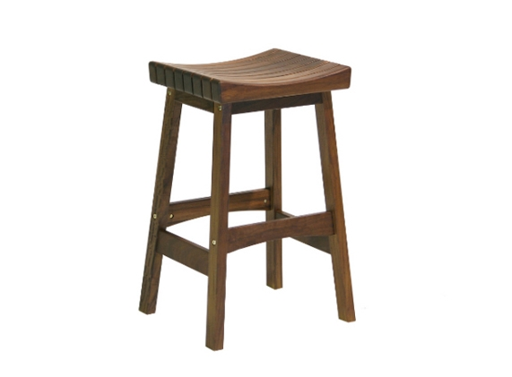 Hearth And Patio Knoxville Jensenleisure intended for Wooden Backless Bar Stools