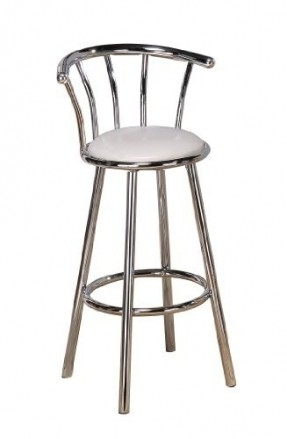 Height Swivel Chairs Bar Stools Foter within The Brilliant  chrome swivel bar stools pertaining to Your property
