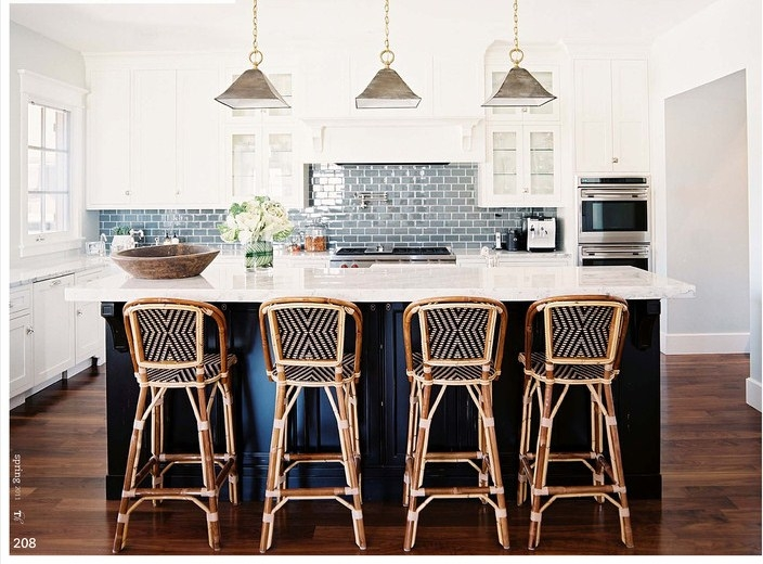 High Street Market French Rattan Bistro Chair in French Bistro Bar Stools