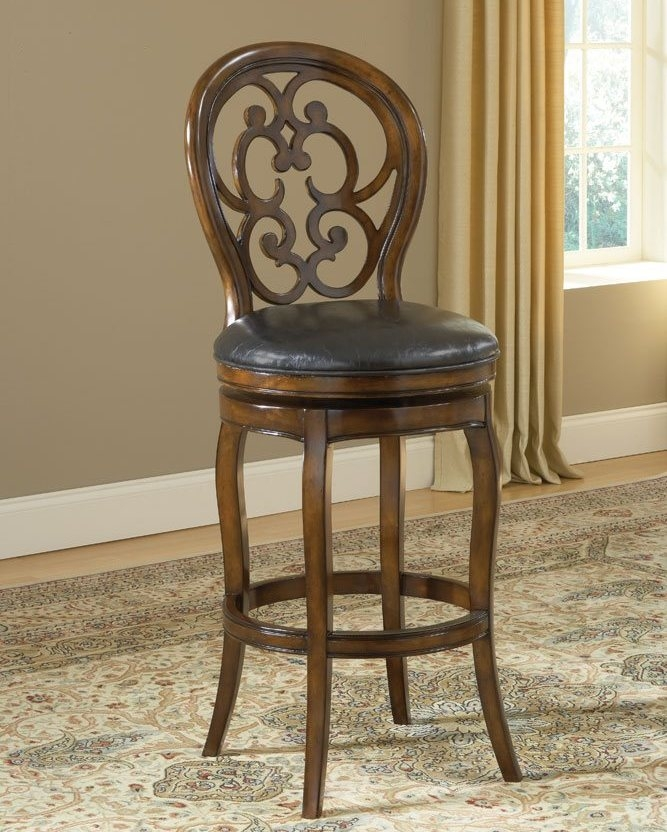 Hillsdale Alexandra 30 Inch Swivel Barstool Efurniture Mart pertaining to hillsdale bar stools intended for Your own home