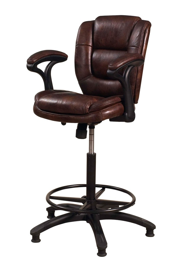 Hillsdale Dawson 31 Inch Upholstered Barstool W Adjustable Back pertaining to 31 Inch Bar Stools