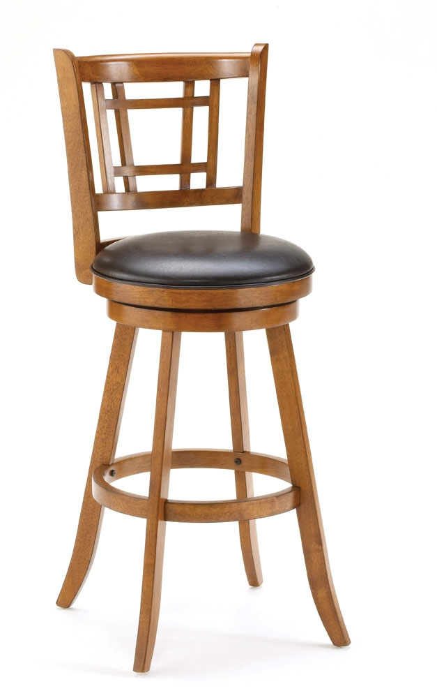 Hillsdale Fairfox Swivel Bar Stool Oak 4650 830 intended for oak bar stools with regard to Residence