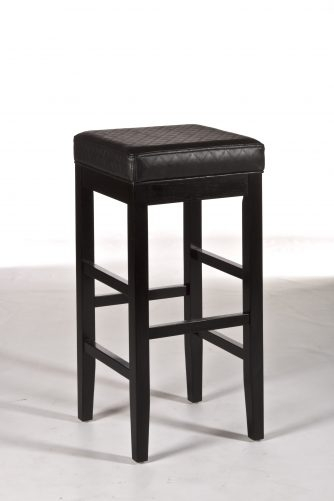 Hillsdale Hammond Non Swivel Backless Bar Stool 5157 831 Backless regarding non swivel bar stools regarding Your own home