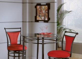 Hillsdale Mix N Match 3 Piece Pub Table Set W Cierra Stools In within 3 Piece Bar Stool Set