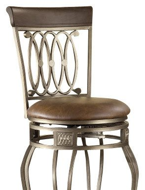 Hillsdale Montello Swivel 28 Inch Counter Height Stool with The Incredible  28 bar stools intended for  Household