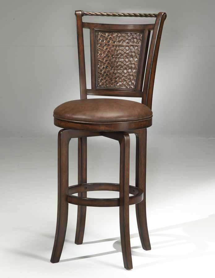 Hillsdale Norwood Copper Back Swivel Bar Stool Hd 4935 831 At inside hillsdale swivel bar stool for Your property