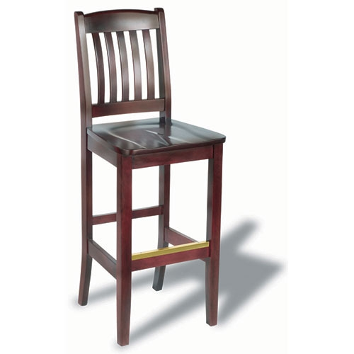 Holsag Bulldog Holsag Bulldog Wood Bar Stool With Back intended for Holsag Bar Stools