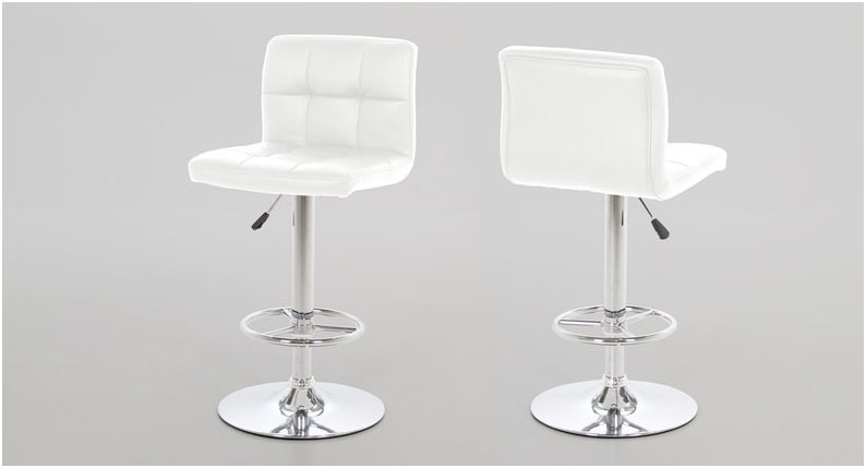Hot White Bar Stool With Gas Lift Quality Actona Barstools for actona bar stools regarding Comfy