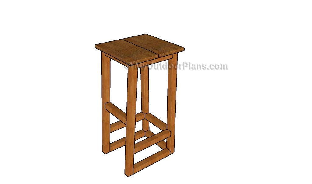 How To Build A Bar Stool Myoutdoorplans Free Woodworking Plans intended for bar stool plans with regard to Inspire
